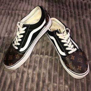 Custom Louis Vuitton Old Skool Vans